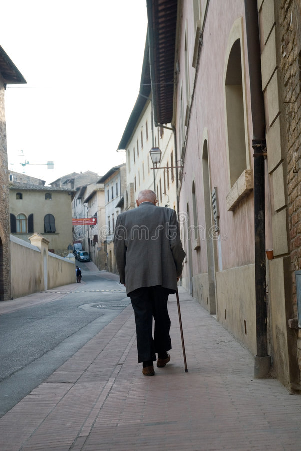 Alter Mann lizenzfreie stockfotos