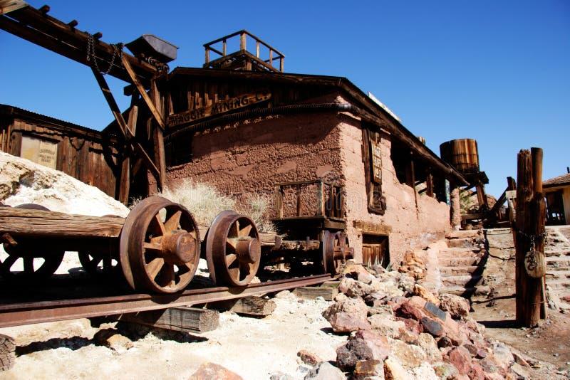 Alter Minenindustrietransport stockbilder