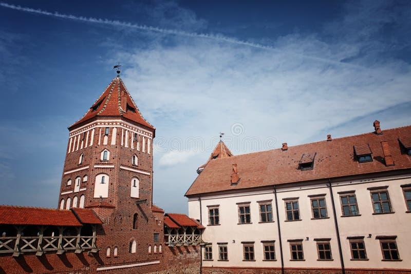 Alter Mir Castle stockbild