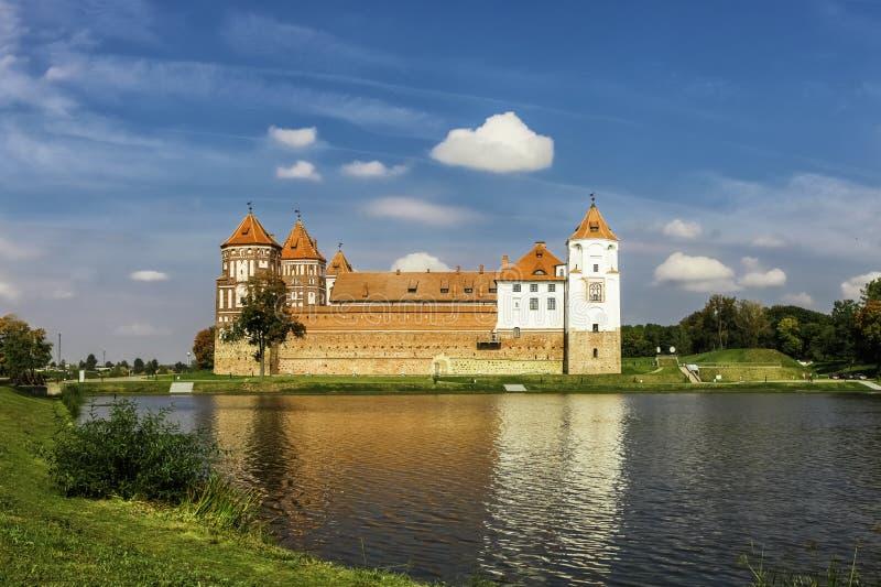 Alter Mir Castle lizenzfreie stockbilder