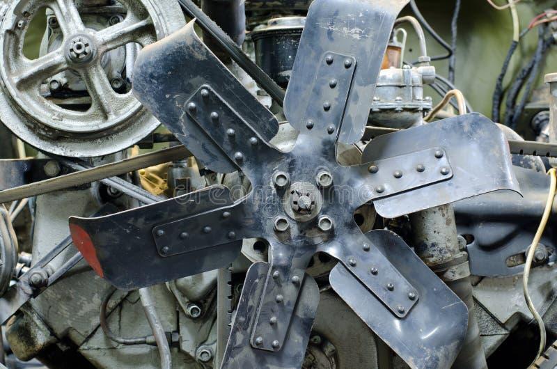 Alter Motor stockbilder