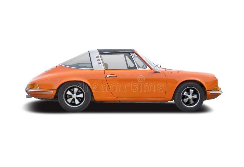 Alter Oldtimer Porsche 911 Targa stockbild