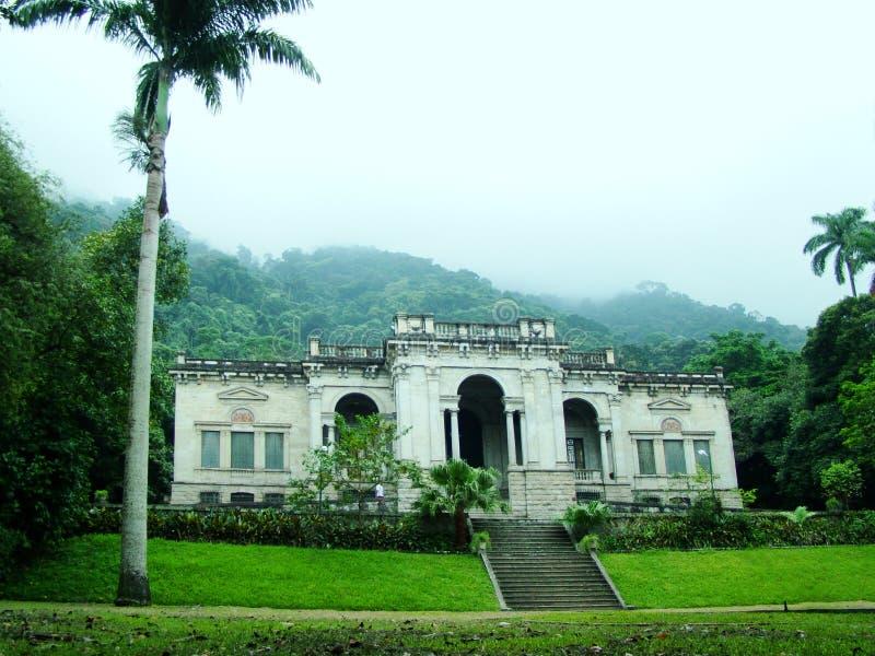 Alter Palast stockbild