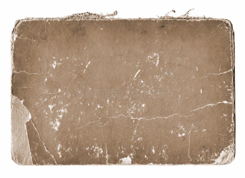 Alter Papiergrunge Hintergrund stockbild