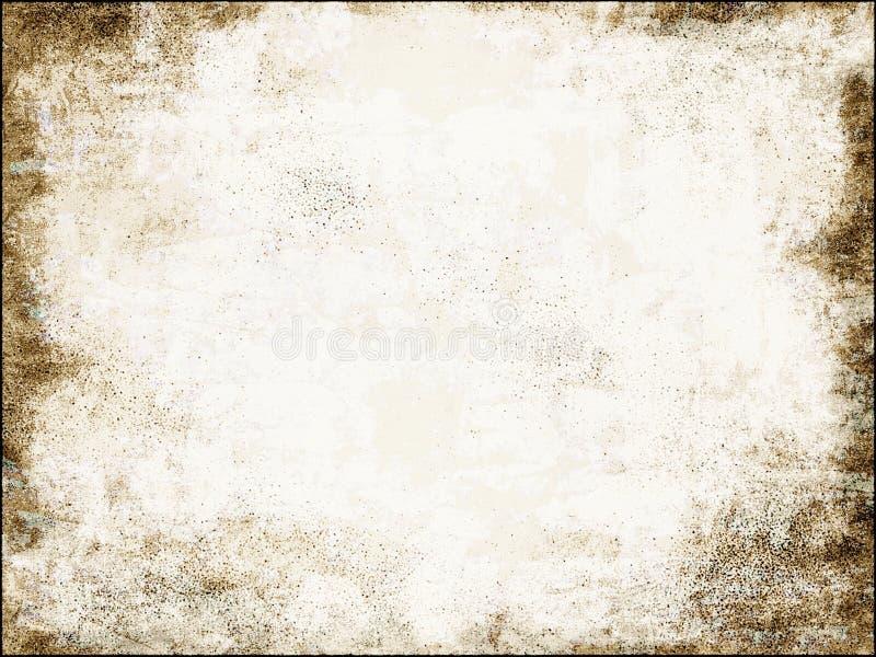 Alter Papierhintergrund lizenzfreie abbildung