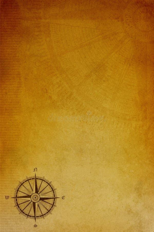 Alter Papyrushintergrund lizenzfreies stockfoto