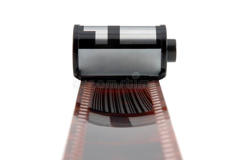 Alter photographischer 35 Millimeter-Film, lokalisiert vektor abbildung
