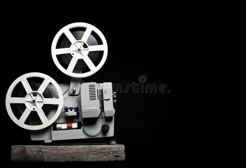 Alter Projektor stockfotografie