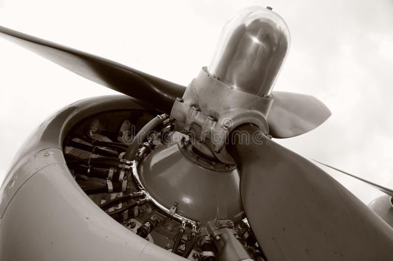 Alter Propeller lizenzfreie stockfotografie
