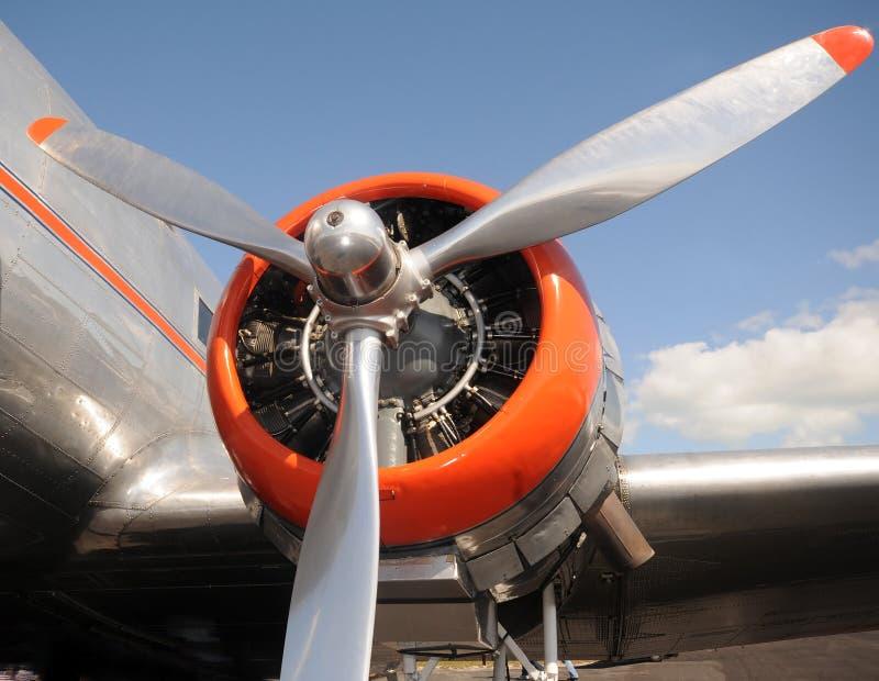 Alter Propeller lizenzfreie stockbilder