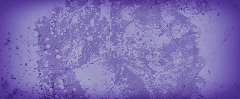 Alter purpurroter Hintergrund mit überlagertem gemarmortem Weinlesegrunge-Rockstein und Schalenfarbe über Rostmetallbeschaffenhei lizenzfreie abbildung