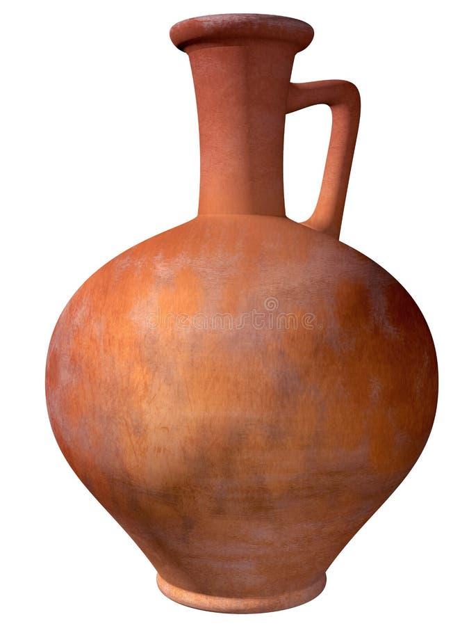 Download Alter römischer Krug stock abbildung. Illustration von historisch - 26353086