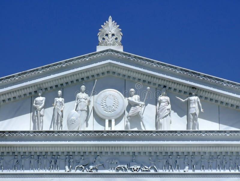 Alter römischer Tempel lizenzfreie stockfotografie