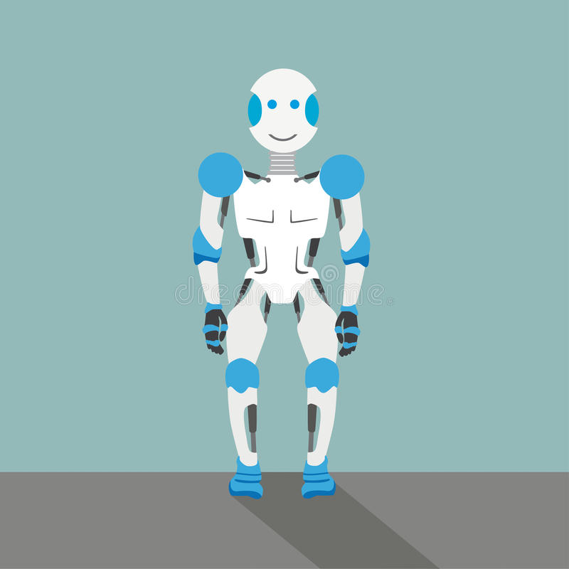 Alter Roboter vektor abbildung