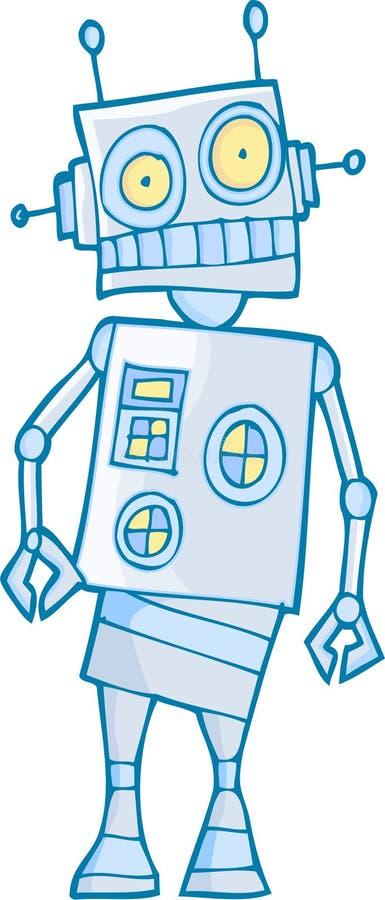 Alter Roboter lizenzfreie abbildung