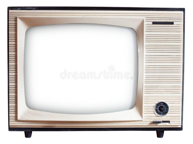 Alter russischer Fernseher lizenzfreie stockfotografie