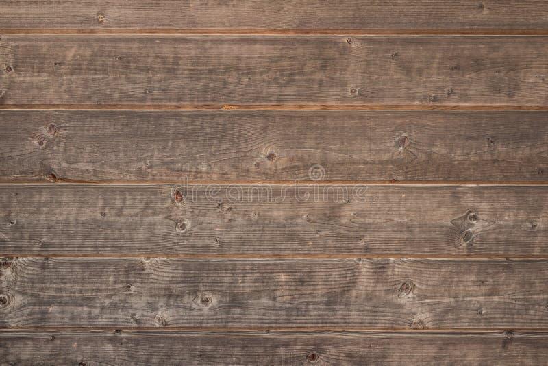 Alter rustikaler hölzerner Hintergrund, braune hölzerne Beschaffenheit lizenzfreie stockfotos