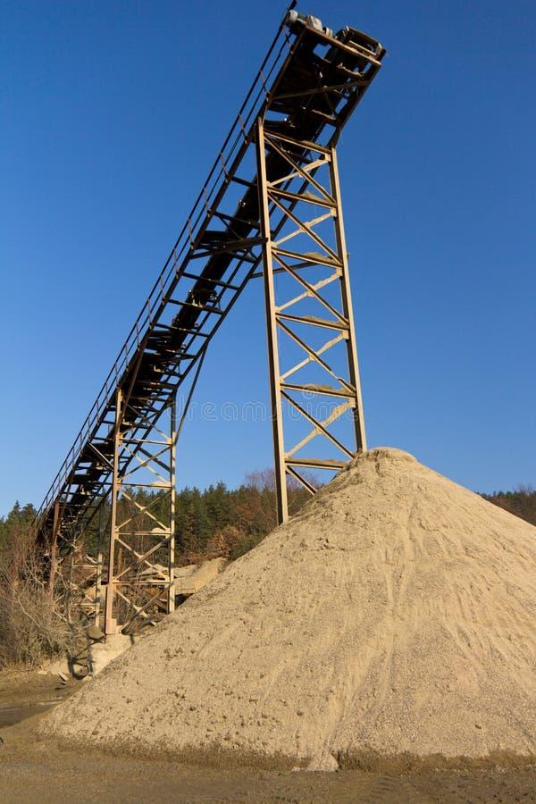 Download Alter SandProduktionszweig Grube Stockbild - Bild von umgebung, stapel: 27729051
