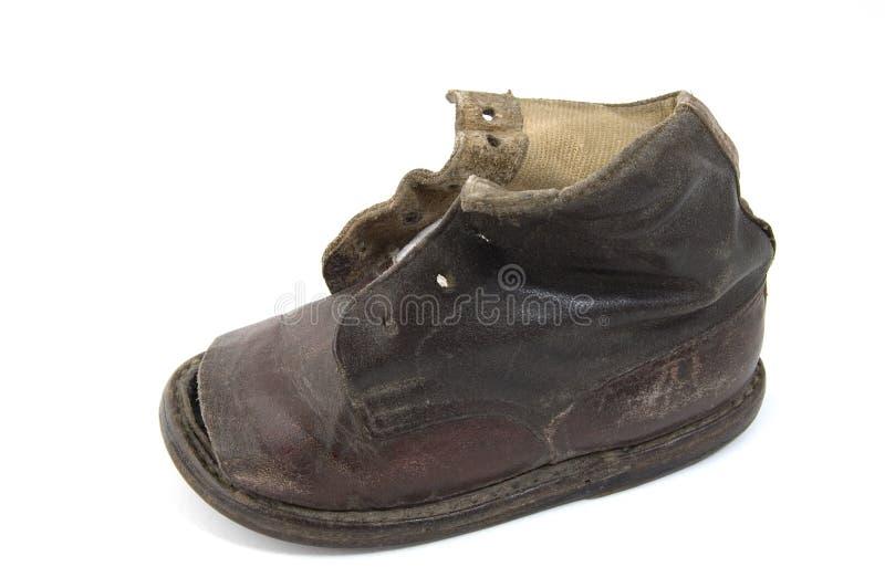 Alter Schuh lizenzfreies stockfoto