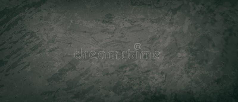 Alter schwarzer Hintergrund in dunkelgrauen Farben mit schwarzem Rand, elegante, bedrückte Vintage Grunge Textur lizenzfreie stockfotos