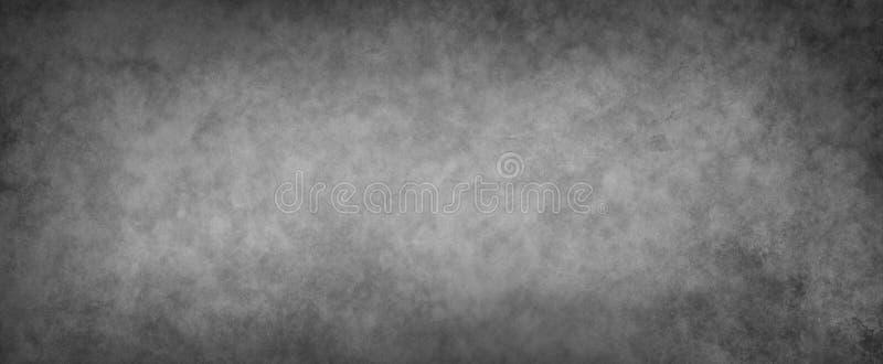 Alter schwarzer Hintergrund mit Beschaffenheit und Schmutz stockfotografie