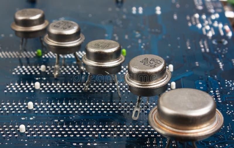 Alter Silizium-Chip stockfotografie
