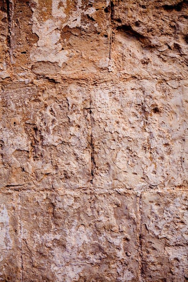 Alter strukturierter Steinwandhintergrund lizenzfreies stockbild