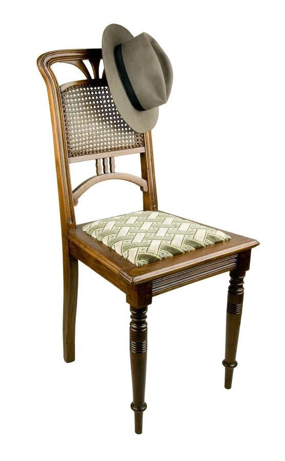 Alter Stuhl lizenzfreie stockbilder
