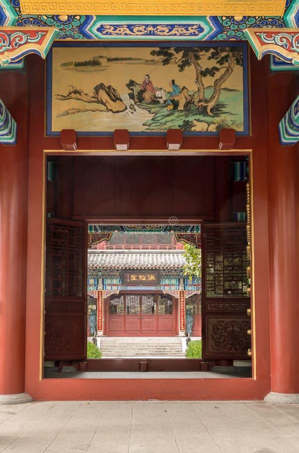 Alter Taoisttempel bei Laoshan nahe Qingdao stockbilder