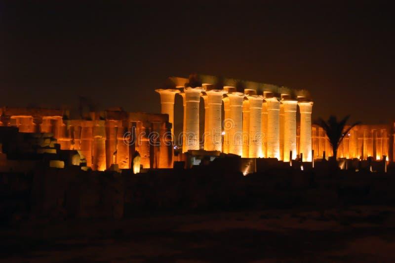 Alter Tempel Karnak stockfotografie