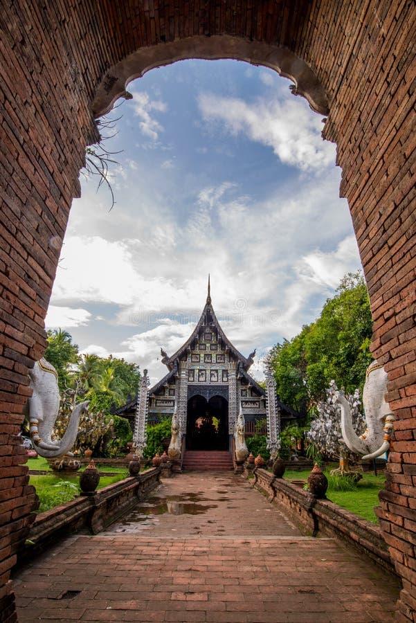 Alter Tempel in Nord von Thailand lizenzfreie stockbilder