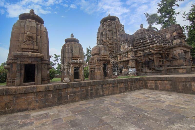 Alter Tempel von Shiva Siddheshwar befindet sich in den Voraussetzungen des Mukteswar-Tempels Bhubaneswar, Odisha, Indien lizenzfreies stockbild