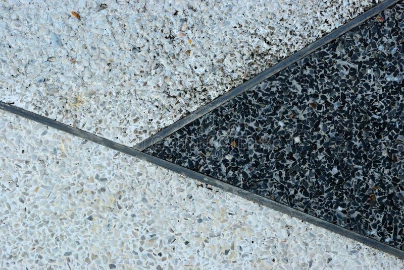 Alter Terrazzobodenhintergrund stockfotografie