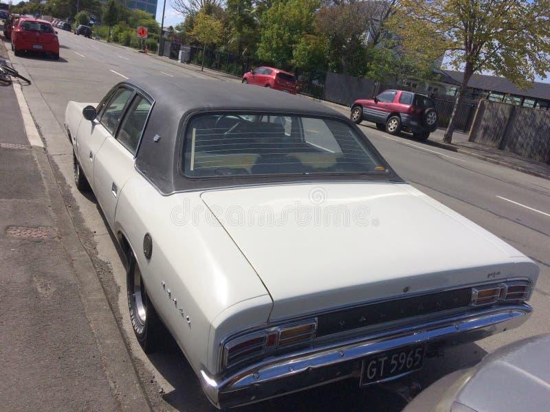 Alter Timer mutige königliche 1975 Chryslers lizenzfreies stockfoto