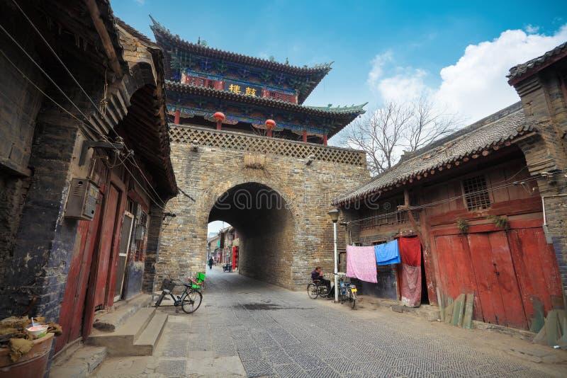 Alter Trommelturm in Luoyang lizenzfreies stockbild