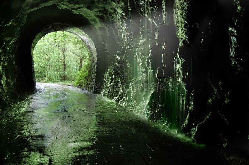 Alter Tunnel des Plazaolaï ¿ ½ s lizenzfreies stockfoto