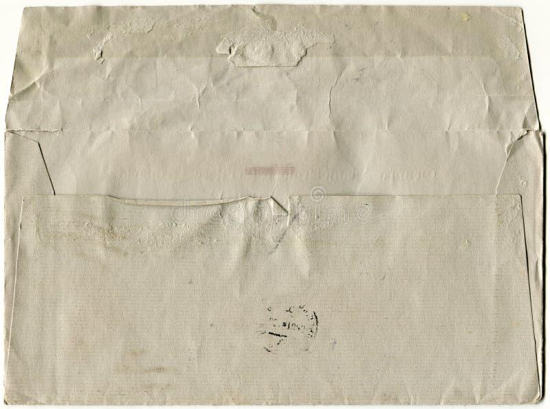 Alter Umschlag lizenzfreies stockbild