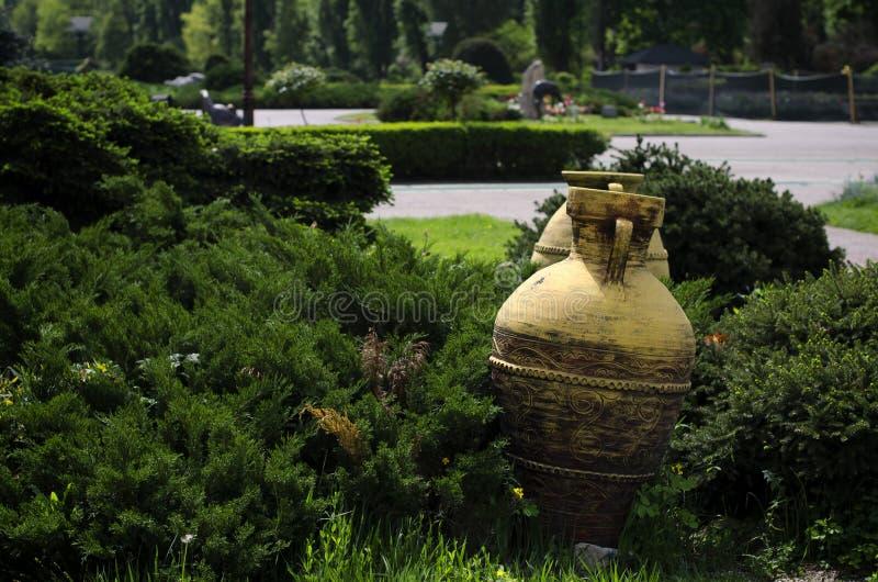Alter Vase stockbild