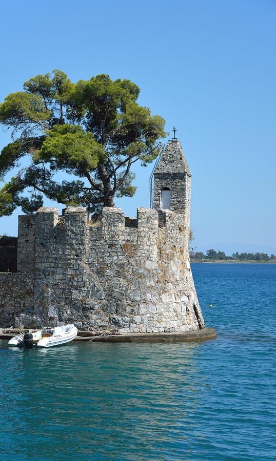 Alter venetianischer Leuchtturm lizenzfreies stockbild