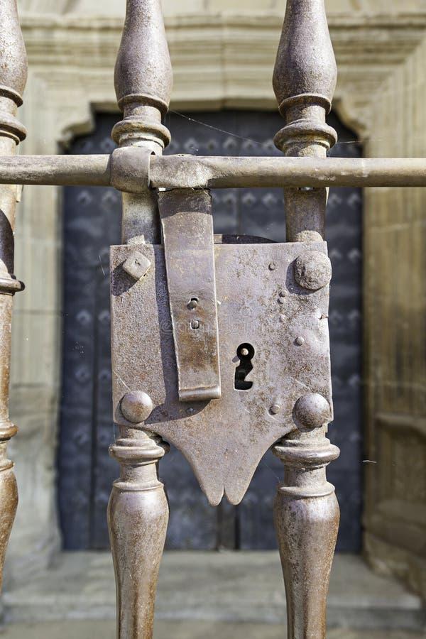 Alter Verschluss gotisch stockbilder