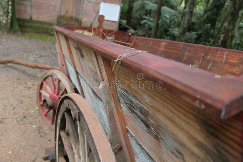Alter Wagen stockfoto