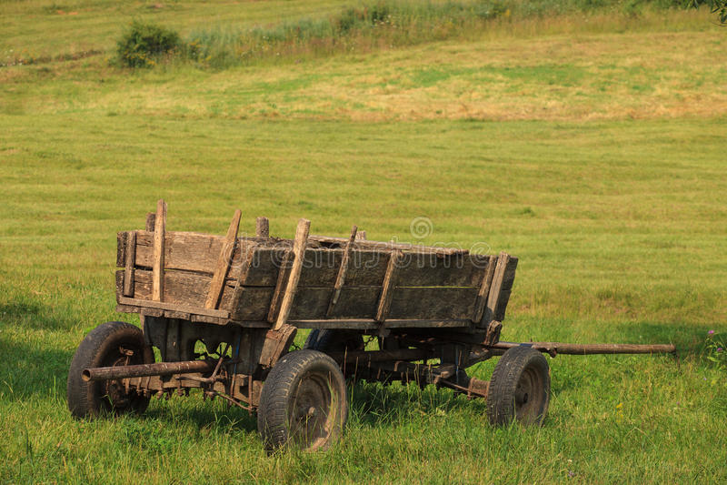Alter Wagen stockfotografie