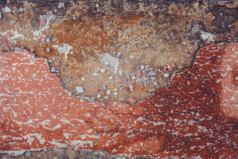 Alter Wandschmutz masert Hintergründe stockbild