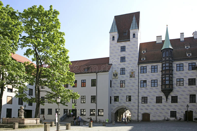 Altere Hof en Munich, Baviera fotos de archivo libres de regalías