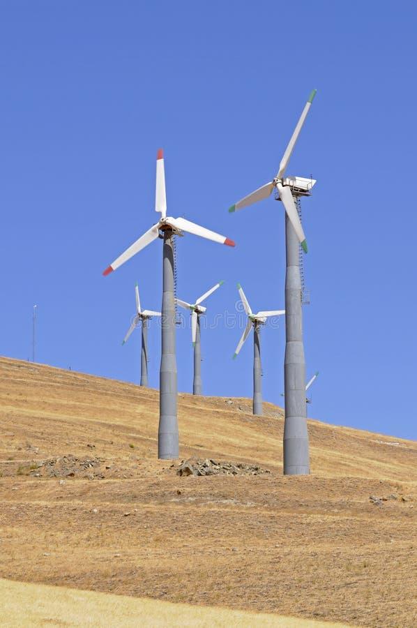 Alternate enrgy windgenerators stock photos