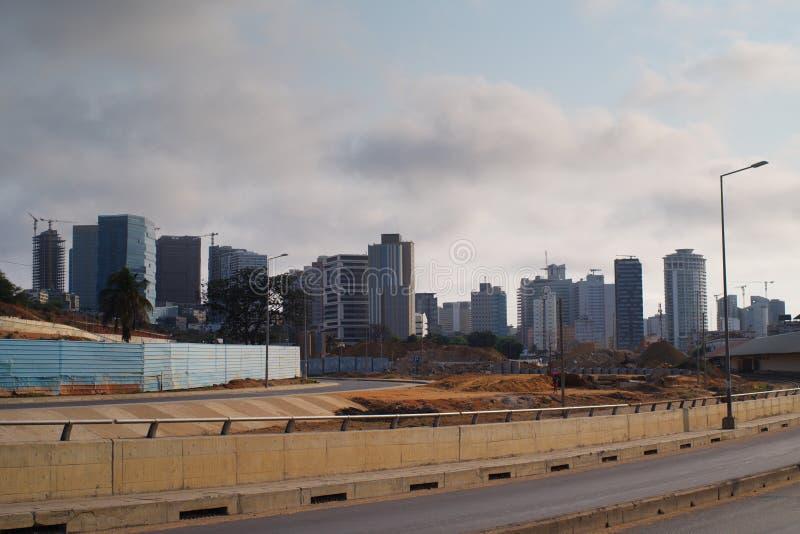 Alternate view of Luanda skyline. Angola stock images