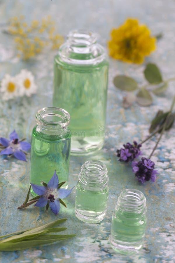Alternatieve aromatherapy geneeskunde royalty-vrije stock fotografie