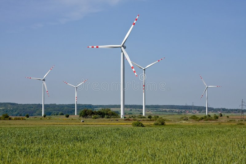 Alternatieve energie royalty-vrije stock afbeeldingen