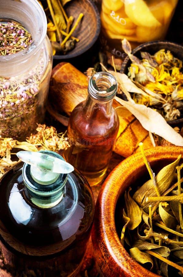 Alternatieve KruidenGeneeskunde stock afbeeldingen