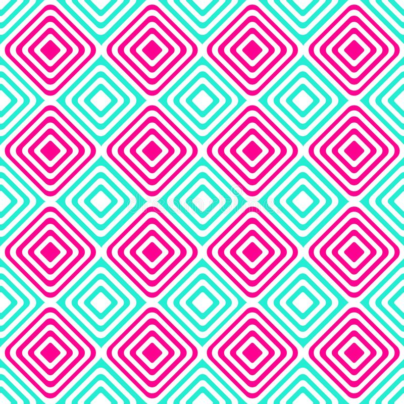 Download Alternating Blue Pink Squares Seamless Pattern Stock Image - Image: 94154551